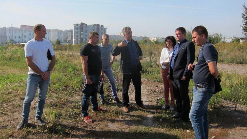 В Брянске начали строительство дороги от Советской до Городища