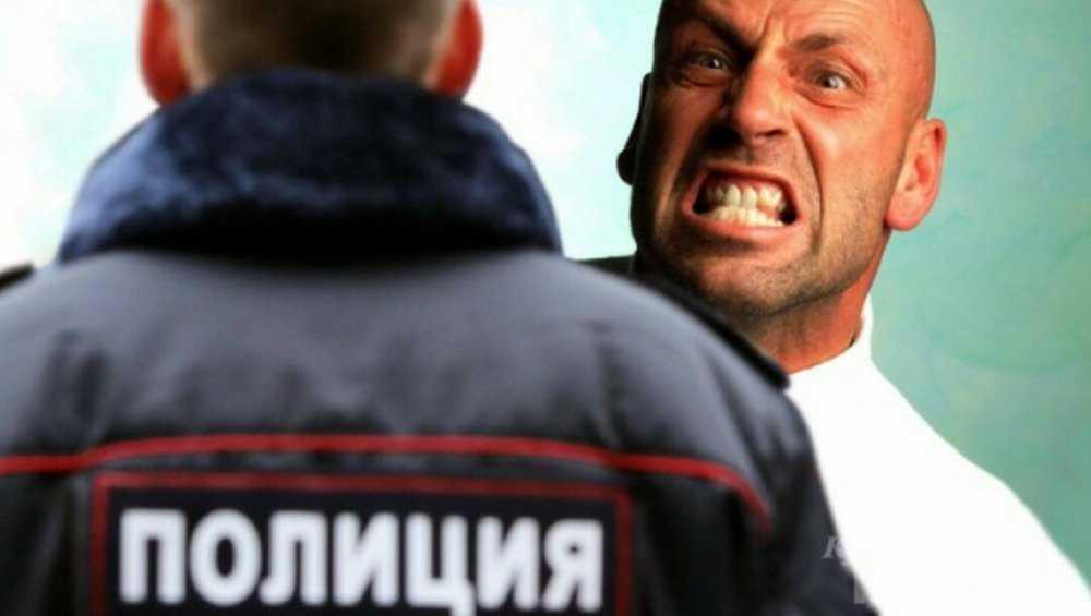 Житель Трубчевска за удар по руке полицейского получил условный срок