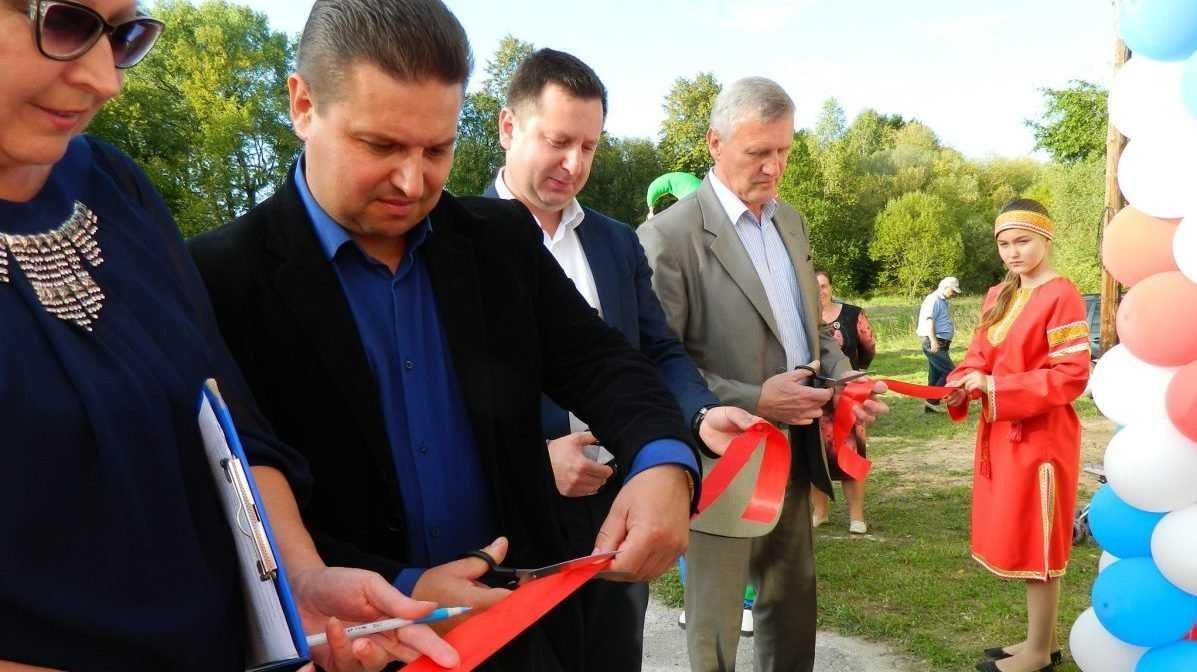 В Почепском районе открылся отремонтированный Доманичский клуб