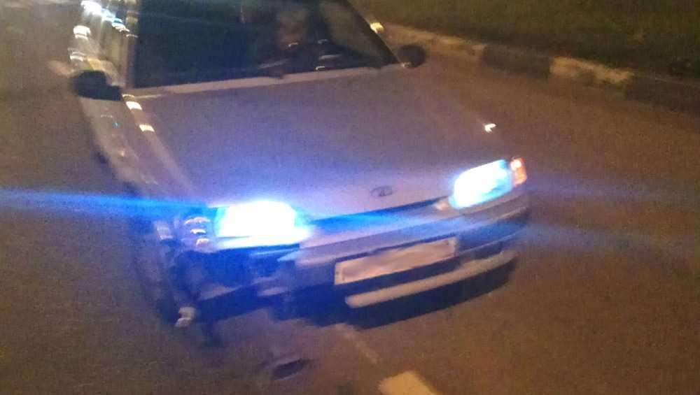 В Клинцах легковушка сбила пешехода и переломала ему ногу