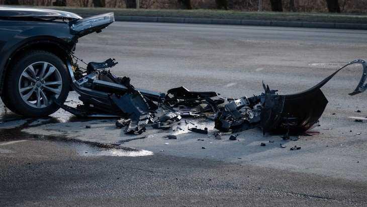 В Унечском районе столкнулись легковушки — пострадал водитель