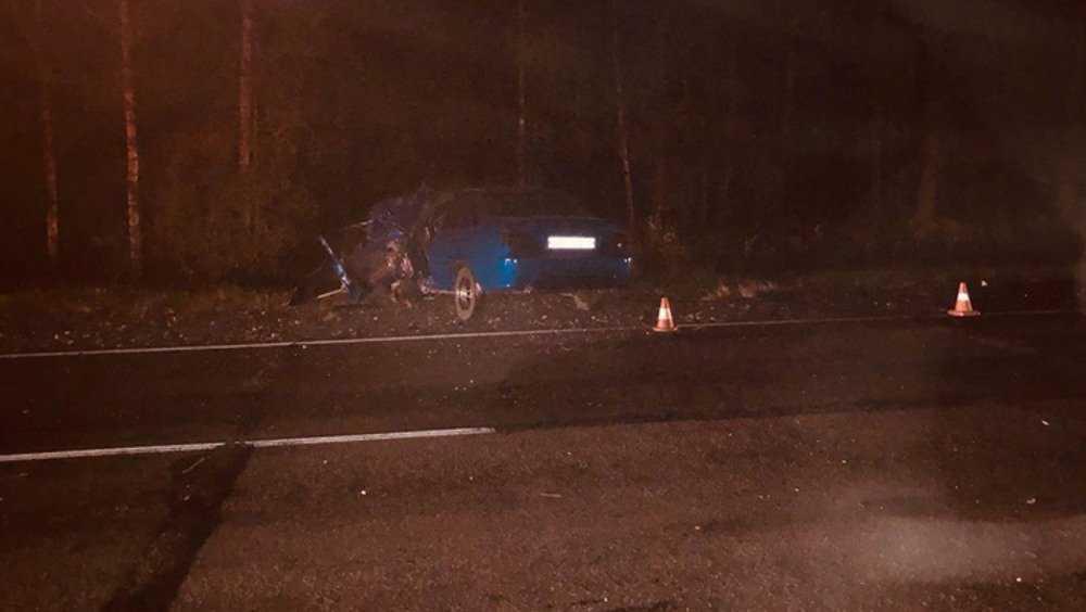 В Навлинском районе в лобовом столкновении погиб водитель легковушки