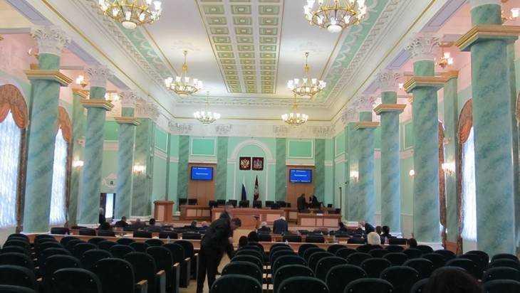 Осужденный депутат принял участие в работе Брянской областной думы