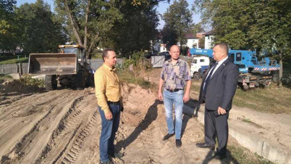 В Жуковке подготовились к постройке нового ФОКа
