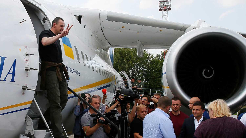 Освобожденный Россией террорист Сенцов сделал скандальное заявление