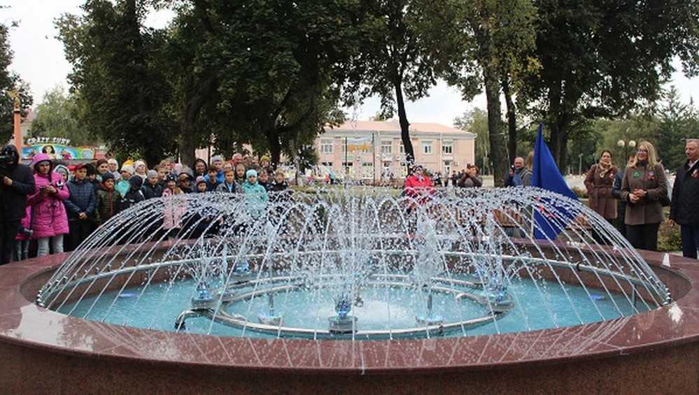 В Стародубе открыли восхитительный фонтан