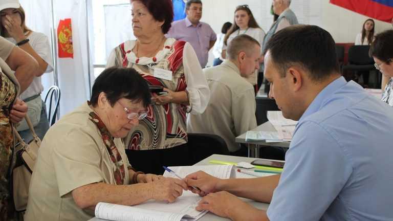Брянская избирательная комиссия отметила хорошую явку избирателей