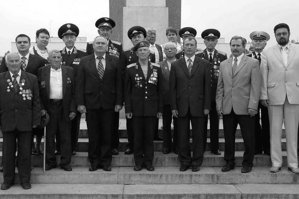 Брянские чиновники и ветераны в 2005 году