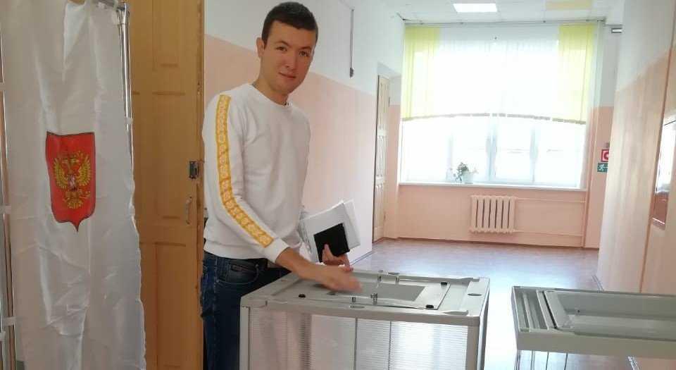Никита Концевой: Молодежь Брянщины активно участвует в голосовании