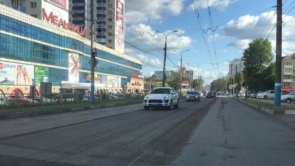 На улице Красноармейской в Брянске начался ремонт