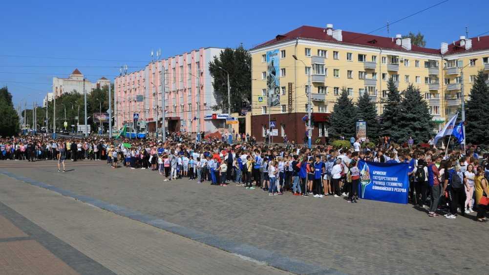 В центре Брянска из-за забега «Кросс наций» перекроют движение