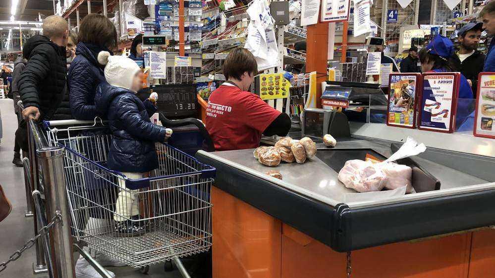 В Брянске начались волнения среди сотрудников гипермаркета «Линия»