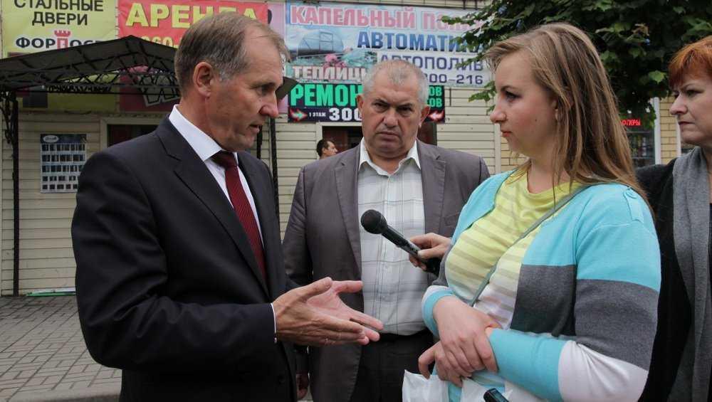 Градоначальник Брянска пообещал построить ливневку на улице Медведева