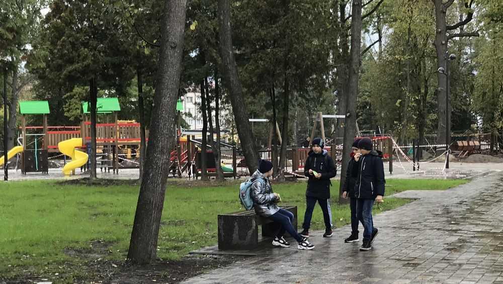 Брянские дети дали оценку обновленному «Майскому» парку