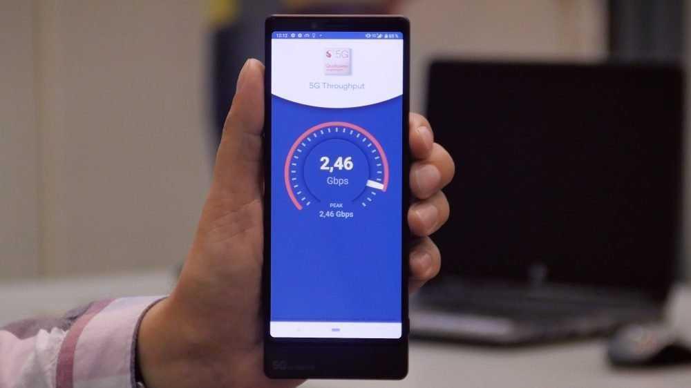 МегаФон довел скорость соединения 5Gдо рекордной отметки — 2,46 Гбит/с