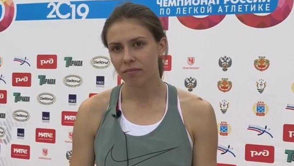 Брянская прыгунья Нидбайкина завоевала «золото» на чемпионате России