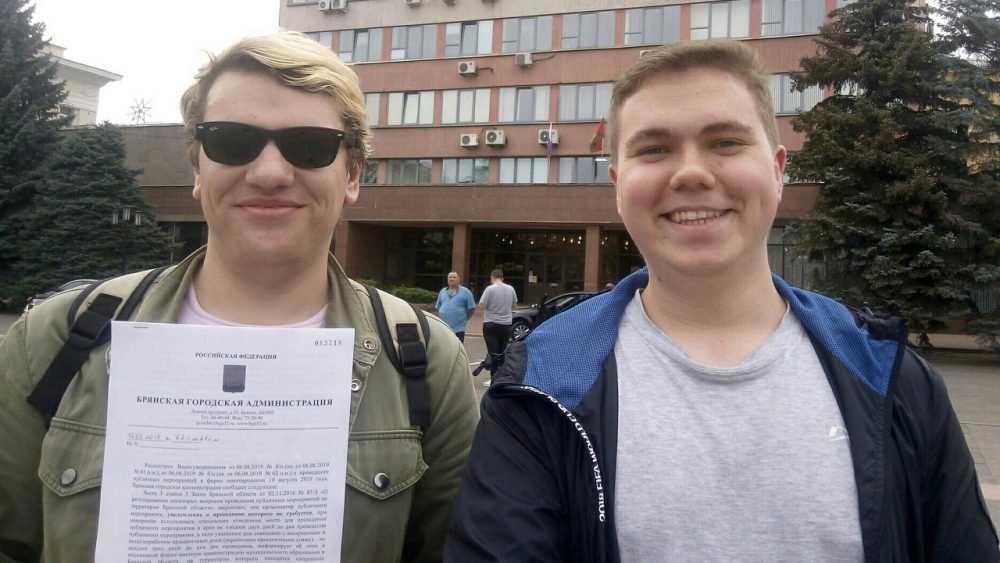 Полицейские обидели брянских сторонников Навального