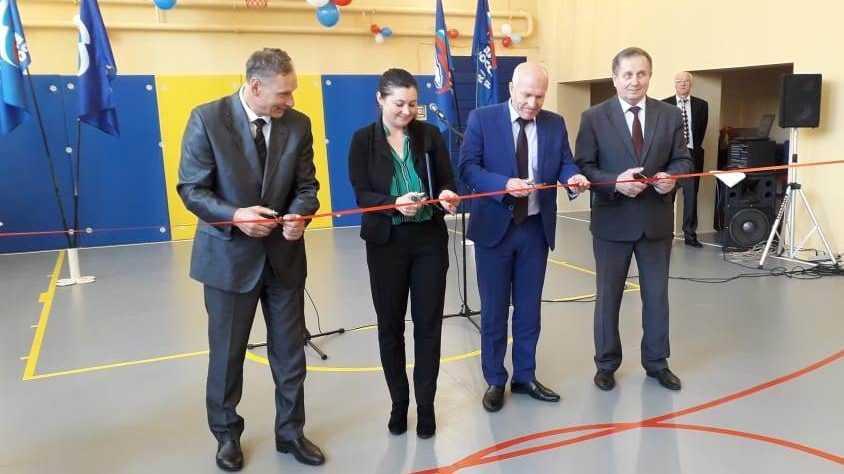 Более ста детей будут заниматься физкультурой в обновленном спортзале Негинской школы