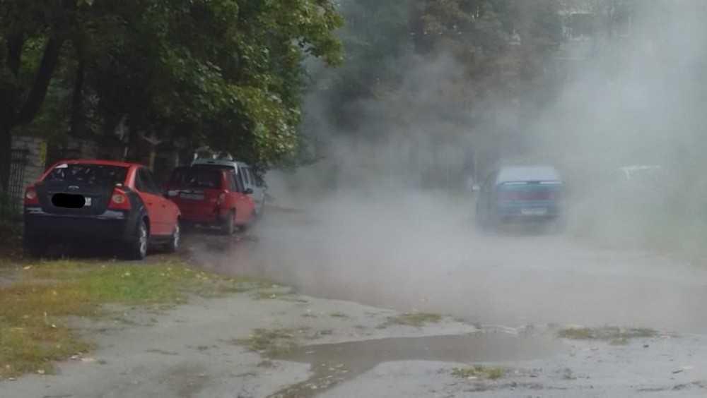 В Брянске открылся сезон коммунальных аварий