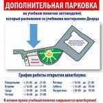 схема дополнительной парковки ДДЮТ
