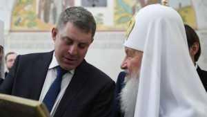 Визит патриарха Кирилла на Брянщину перенесли