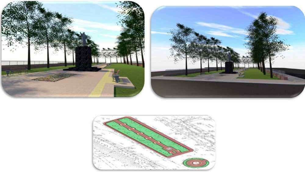 В Брянске представили проект благоустройства привокзальной площади
