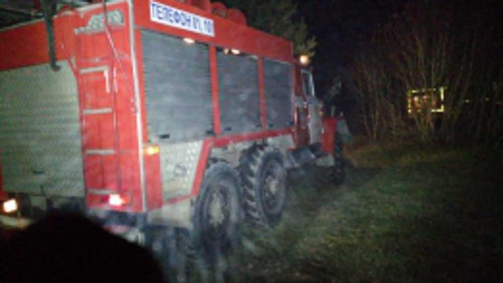 В Дятьковском районе при пожаре в частном доме погиб человек