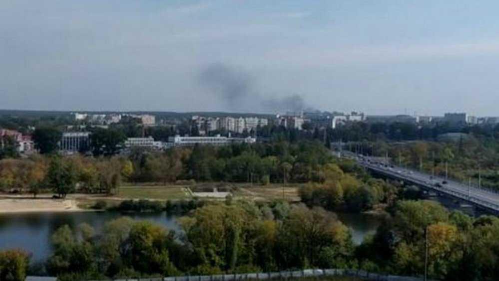 Жители Брянска рассказали о серьёзном пожаре на Новостройке