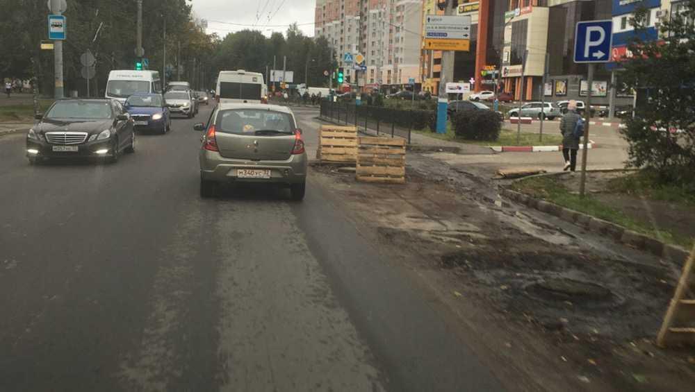 Брянцев измучили постоянные пробки возле БГУ
