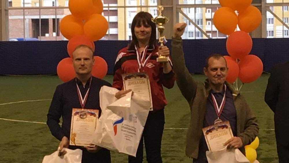 брянская команда завоевала бронзу на спартакиаде