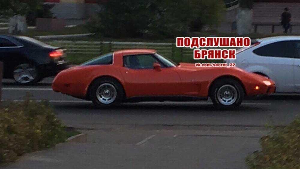 По Брянску проехала легенда американского автопрома