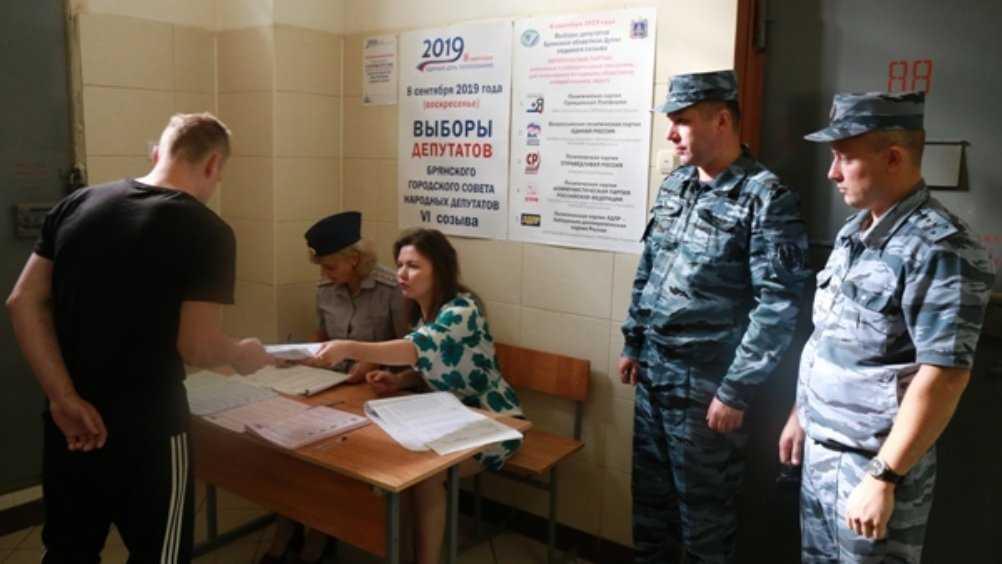 В Брянской области на выборах проголосовали 400 заключённых