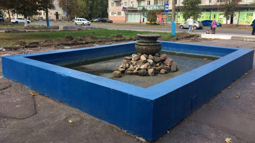 В Брянске начали преображать сквер возле ДК Кравцова