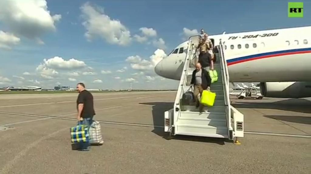 Россия и Украина обменялись заключенными