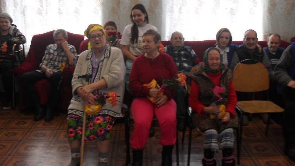 В Брасове волонтёры подарили праздник пенсионерам из дома-интерната