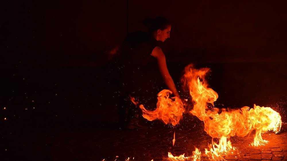 В Брянске огненное шоу на Набережной перенесли на 17 сентября