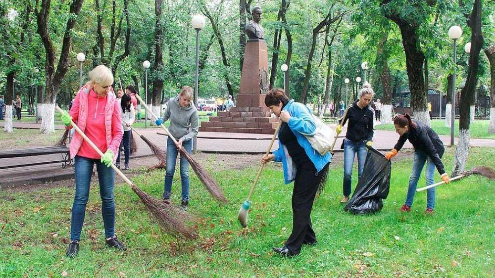 Жителей Брянска позвали на городской субботник 14 сентября