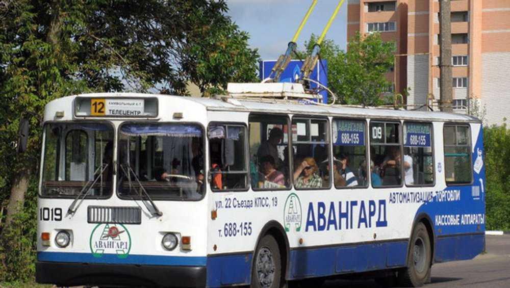 Брянские троллейбусы заменят новыми автобусами