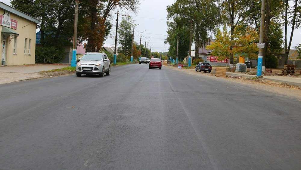 В Брянске ремонт Бежицкой улицы разделили на три участка