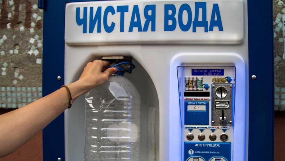 В Брянске двое юнцов взломали водомат и похитили 2000 рублей
