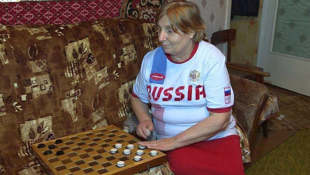 Слепая шашистка из Брянска победила на чемпионате мира