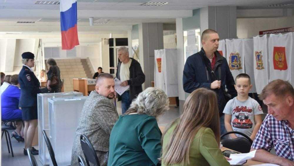 «Единая Россия» побеждает на выборах в Брянскую областную думу