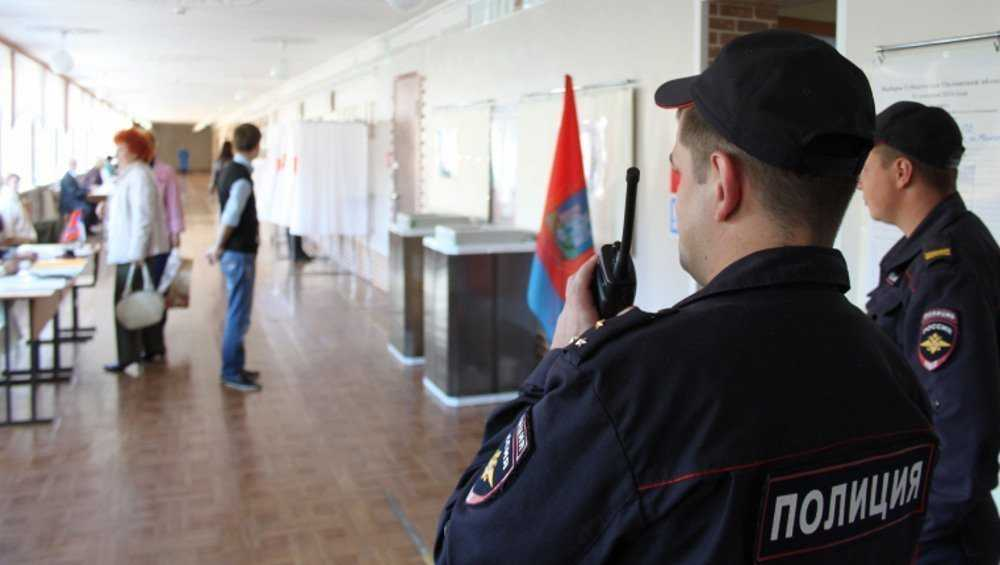 В Брянской области за порядком на выборах проследят 3000 полицейских