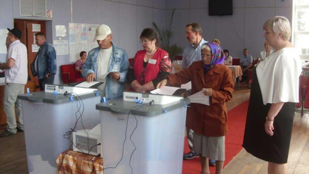 В Брянской области к 15.00 проголосовала треть избирателей