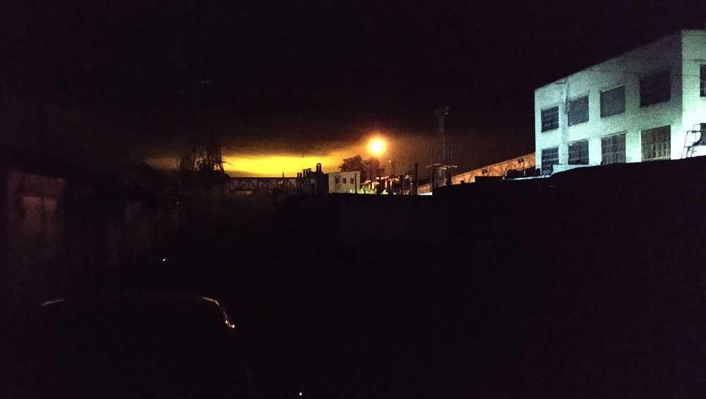 Жителей Брянска встревожило ночное зарево