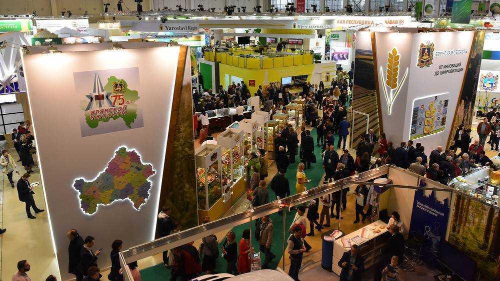 В Москве на выставке брянцы показали достижения сельского хозяйства