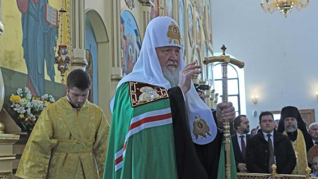 Первый канал показал «Слово пастыря» Патриарха в брянском монастыре