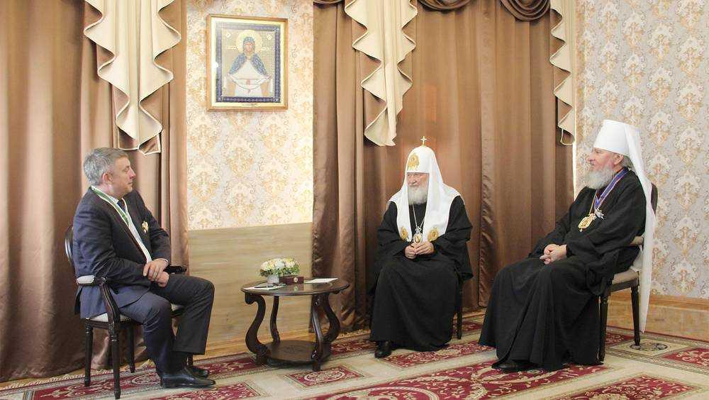 Патриарха Кирилла поразили перемены на Брянской земле