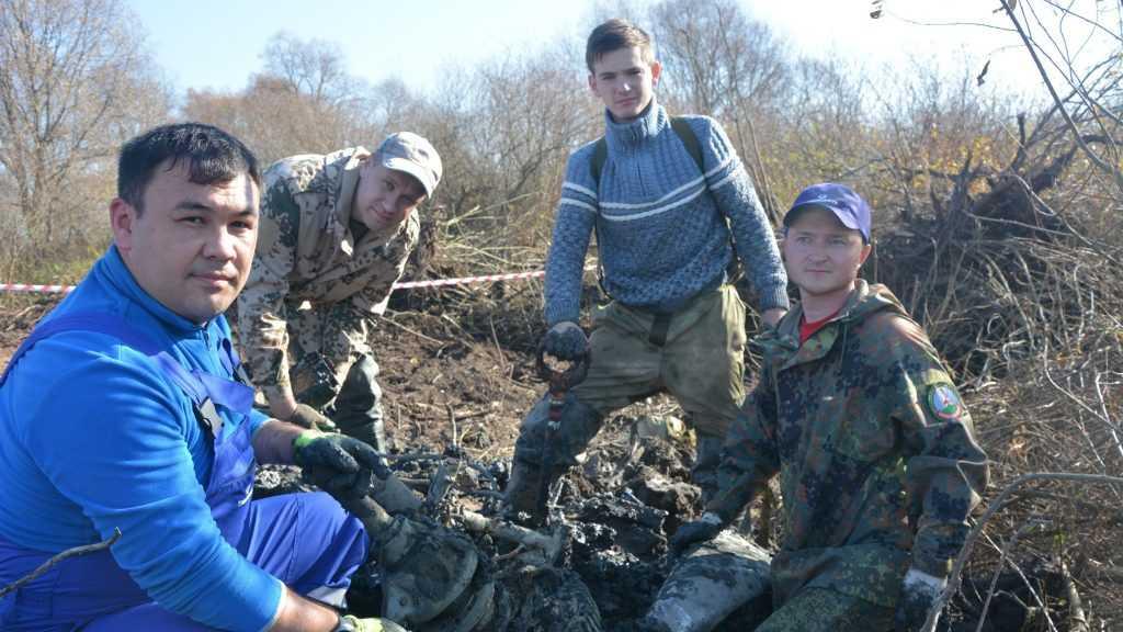 Под Брянском нашли боевой самолет отважного уроженца Грозного