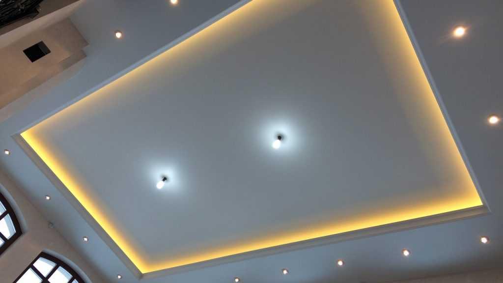 Натяжные потолки как оптимальный выбор